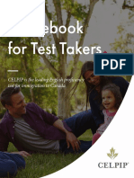 Guidebook CELPIP Test Takers