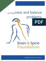 dizziness and balance problem
