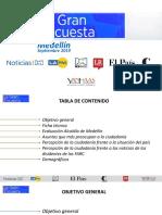 La Gran Encuesta Medellín Sept 2019