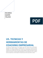 Tecnicas y Herramientas de Coaching Empresarial