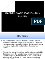 DAEDALUS AND ICARUS – Nick Pontikis.pptx