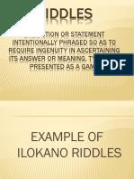 ilocano riddles