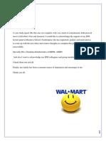Wall mart case study