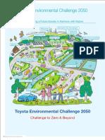 Toyota Environmental Challenge 2050