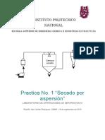 Practica No 1 Secador de Aspersión.docx