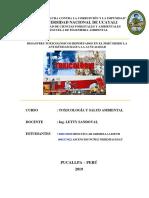 desastres toxicológicos en el Perú