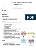 Working of diesel fuel supply system and ignition system.docx