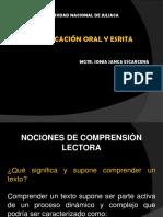 DIAPOSITIVAS TIPOLOGÍA COMPRENSIÓN TEXTUAL