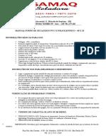 Manual Tunel de Encolhimento de PVC E POLIOLEFINICO
