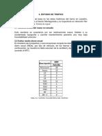 ESTUDIO DE TRAFICO - INVESTIGACION