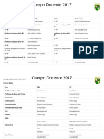 CCR Lista de Docentes