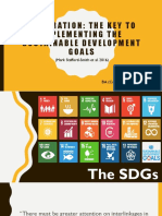 Integration for Sdg