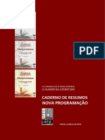 Novo Caderno de Resumos e Programação XXI CEL O Humor Na Literatura 2019. 18 Set.