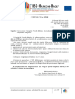 Convocazione Consigli di Periodo didattico. Accreditamento e accertamento delle competenze in ingresso.