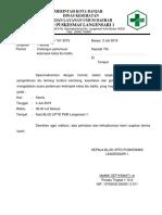Surat Kelas Balita 2019