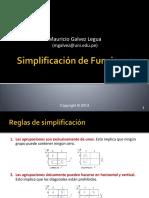 Simplificacion de Funciones
