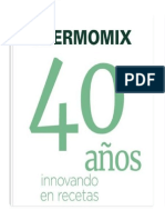 40 Años Thermomix