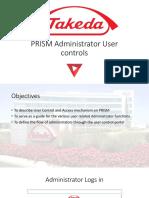 PRISM Administrator User controls based on flowchart.pptx