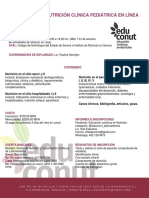 Diplomado de Nutrición Clínica Pediátrica en Línea