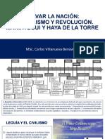 Curso de Realidad Nacional: Jose Carlos Mariategui y Victor Raul Haya de la Torre