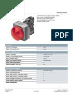 Siemens 3SB3648 6BA20 Datasheet