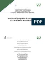Evaluacion Duagnostica y Final Primaria Ef