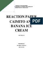 Caimito Ice Cream