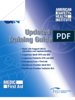 HSI Updated Training Guidelines 2010