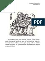 Analysis (Philippine Caricature)
