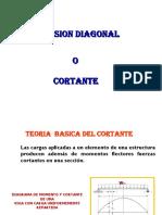 TENSION DIAGONAL O CORTANTE