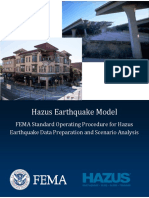 FEMA Standard Operating Procedure for Hazus Earthquake Data Preparation and Scenario Analysis