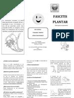 Folleto Fascitis Plantar.pdf