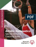 Special Olympics - Artistic Gymnastics Coaching Guide