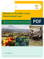Review of the New Local Government Law by INOBU Research