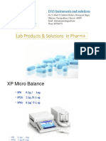 Pharma Solutions Overview in LAB
