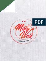Menú Agosto 2019 Misky Wasi