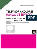 Chassis-SC-023A RP14CB20 - RP-20CB20A -  RP-21FB20 -RP-21FB32-RP21FE60  Manual de servicio.pdf