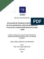 2018 Montalvan de Pinto Elba Adela