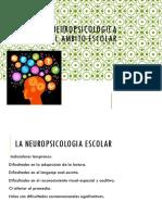 Evaluacion Neuropsicologica en El Ambito Escolar