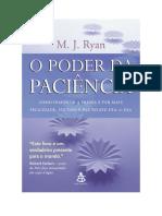M. J. Ryan - O poder da paciência.pdf