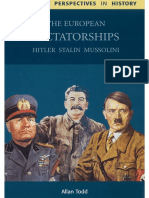 Allan Todd - The European Dictatorships_ Hitler, Stalin, Mussolini-Cambridge University Press (2002)