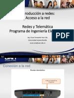acceso a la red diapositivas
