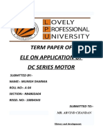 app. of dc series motor.doc