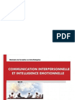Communication Et Intelligence Emotionnelle