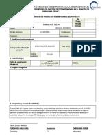Formato Entrega de Productos a Beneficiarios Del Proyect1