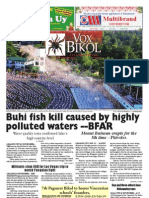 Vox Bikol Vol. 28 Issue No. 25