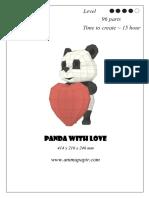 Diy Panda Heart