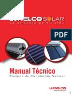 Manual Tecnico. Equipos de Circulacion Natural - Lumelco