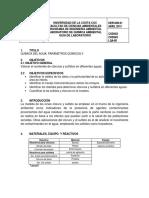 Guía 5 Química Del Agua Parámetros Químicos II