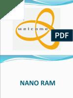 20157731 Nano Ram or Nram
